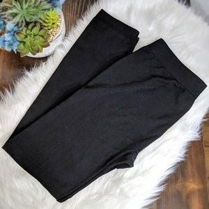 Sociology Black Leggings OS/Queen